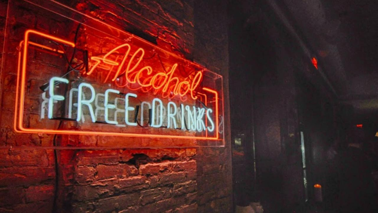 Young Brits' booze-free lifestyles inspiring a new type of bar