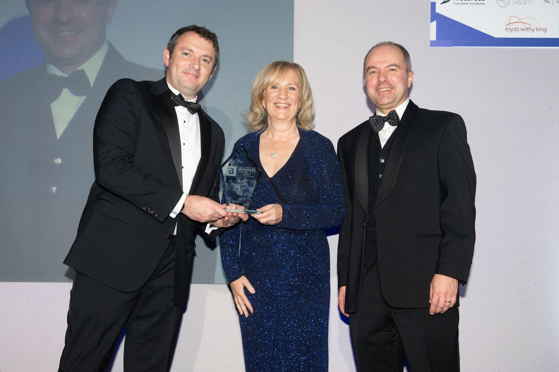 HGEM Awarded Employer of the Year at Bath Business Awards