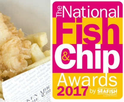 National fish and chip awards logo