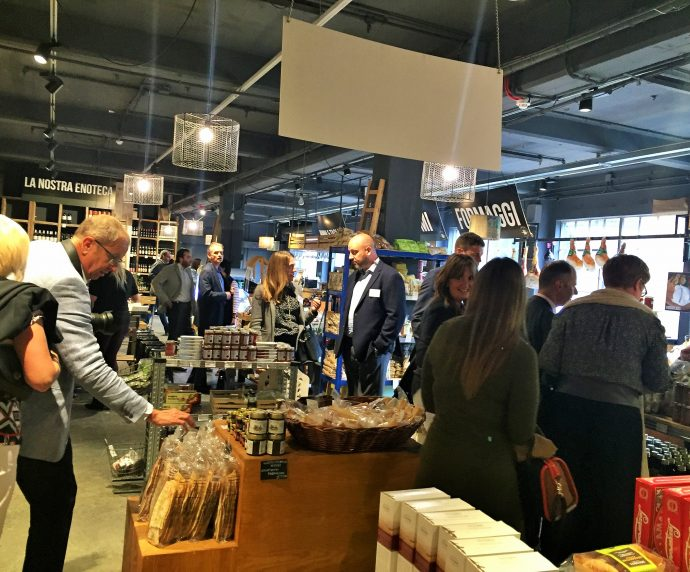 Arena event at mercato metropolitano in london