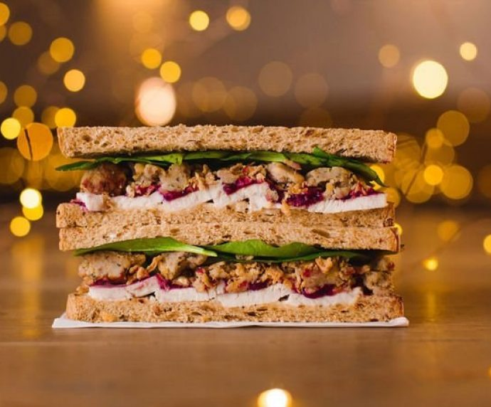 Vegan Christmas Sandwich Taste Test