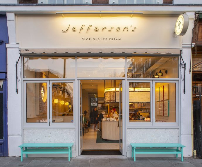 Jeffersons ice cream
