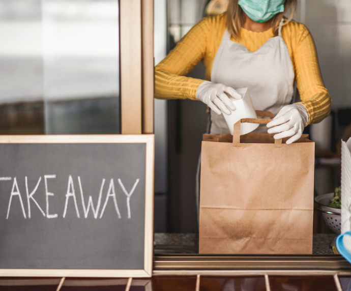 Food operators quick to pivot to delivery & takeaway