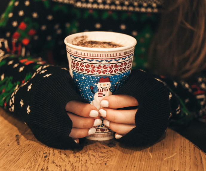 Christmas Jumper, Hot Drink